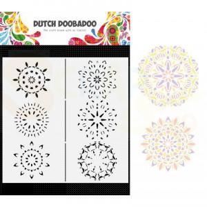 470.784.011 Dutch Doobadoo Mask Art, Slimline Mandalas