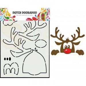 470.784.012 Dutch Doobadoo Card Art, Rendier