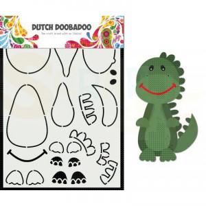 470.784.014 Dutch Doobadoo Card Art, Dino