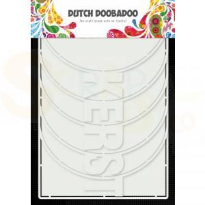 470.784.017 Dutch Doobadoo Card Art, Kerstalbum (6-delig)