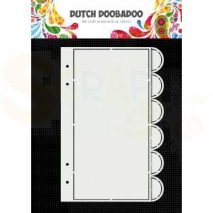 470.784.020 Dutch Doobadoo Card Art, Slimline album 6 set