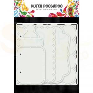 470.784.021 Dutch Doobadoo Card Art, Baby album 5 set