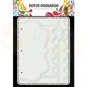 470.784.024 Dutch Doobadoo Card Art, Multi album 5 set
