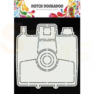 470.784.027 Dutch Doobadoo Card Art, Polaroid camera
