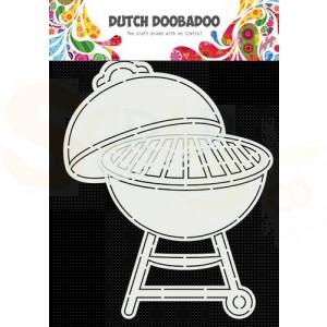 470.784.028 Dutch Doobadoo Card Art, Barbecue