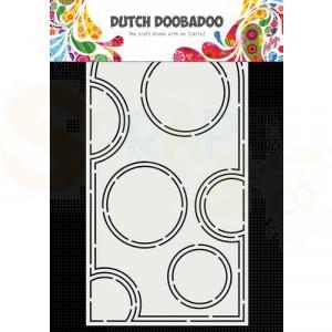 470.784.040 Dutch Doobadoo Mask Art Slimline, Bubbels