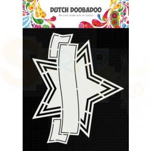 470.784.041 Dutch Doobadoo Shape Art, Banner ster