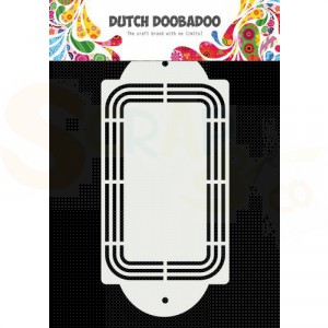 470.784.042 Dutch Doobadoo Shape Art, Linda