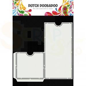 470.784.043 Dutch Doobadoo Slimline, Label Pocket