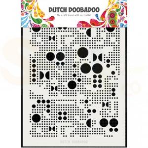 470.715.133 Dutch Doobadoo Mask Art, Mylar Various Dots