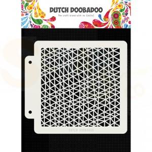 470.715.143 Dutch Doobadoo Mask Art, Triangle wave