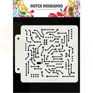470.715.145 Dutch Doobadoo Mask Art, Motherboard