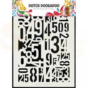 470.715.146 Dutch Doobadoo Mask Art, Numbers