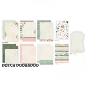 472.100.002 Dutch Doobadoo Papier, Alison Set