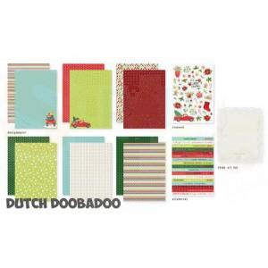 472.100.005 Dutch Doobadoo Papier, Crafty Kit Abigail