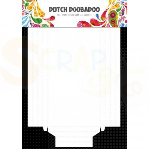 472.948.901, Dutch Doobadoo, Paper Shadowbox (2 stuks)