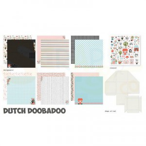 473.005.002 Dutch Doobadoo Papier, Crafty Kit XL Spring