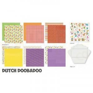473.005.005 Dutch Doobadoo Papier, Crafty Kit XL Time to Party