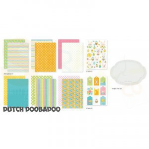 473.005.007 Dutch Doobadoo Papier, Crafty Kit A5 Paashazen