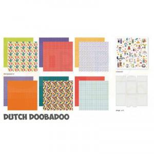 473.005.008 Dutch Doobadoo Papier, Crafty Kit XL Tropical Vibes