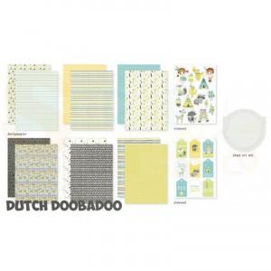 473.005.010 Dutch Doobadoo Papier, Crafty Kit Be Wild