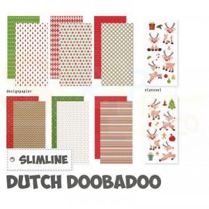 473.005.013 Dutch Doobadoo Crafty Kit, Slimline Oh Deer
