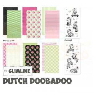 473.005.016 Dutch Doobadoo Crafty Kit Slimline, Zebra