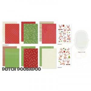 473.005.017 Dutch Doobadoo Crafty Kit, Rudolph