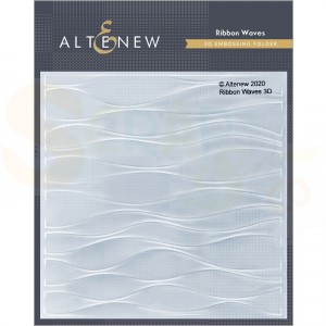 Altenew, embossingfolder Ribbon Waves ALT4778
