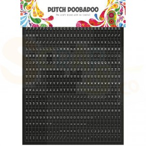 491.200.002, Dutch Doobadoo Sticker Art, Tekst