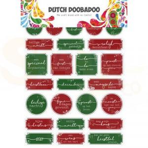 491.200.0010, Dutch Doobadoo Sticker Art, Kerst (NL)