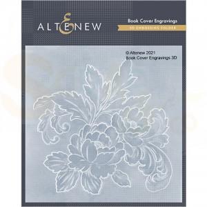 Altenew, embossingfolder Book Cover Engravings