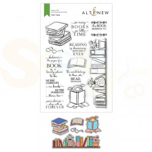 Altenew, stamp & die Tall Tale ALT4946