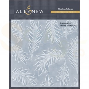 Altenew, embossingfolder Floating Foliage ALT4949