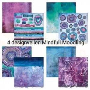 Studiolight, Scrap Mindfull Moodling 4 vellen JL-MM-SCRAP