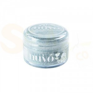 Nuvo Sparkle dust, silver sequin 547N