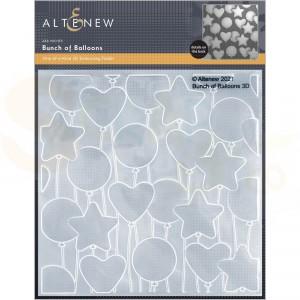 Altenew, embossingfolder Bunch of Balloons ALT6124