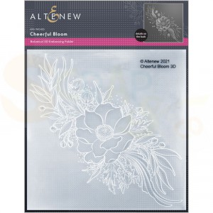 Altenew, embossingfolder Cheerful Bloom ALT6126
