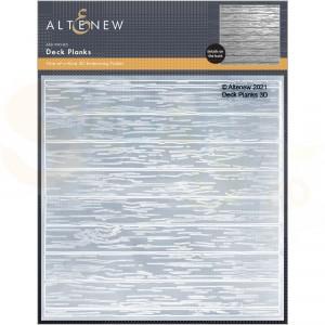 Altenew, embossingfolder Deck Planks ALT6128
