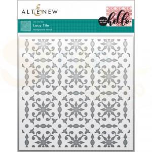 Altenew, Stencil Lacy Tile ALT6136