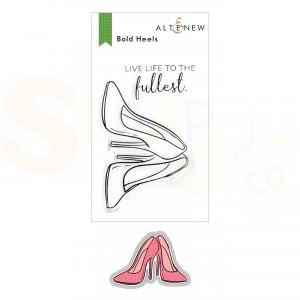 Altenew, stamp & die Bold Heels ALT6147