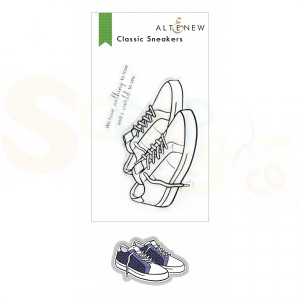 Altenew, stamp & die Classic Sneakers ALT6150