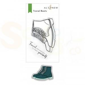 Altenew, stamp & die Travel Boots ALT6153