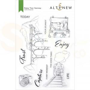 Altenew, clearstamp Enjoy your Journey ALT6165d