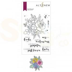 Altenew, stamp & die Inky Bouquet ALT6172