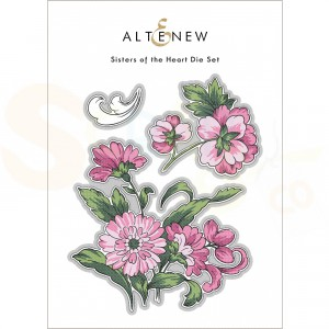 Altenew, die set Sisters of the Heart ALT6184