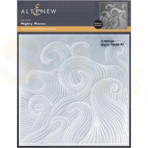 Altenew, embossingfolder Mighty Waves ALT6208