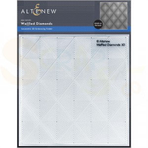 Altenew, embossingfolder Waffled Diamonds ALT6209