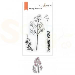 Altenew, stamp & die Berry Branch ALT6229