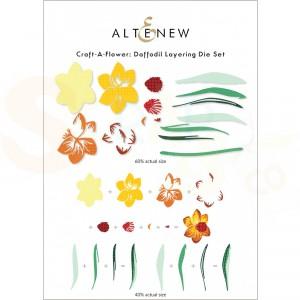Altenew, craft-a-flower Daffodil ALT6237